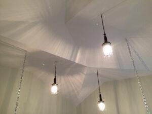 Plafond origamic en plaque de plâtre