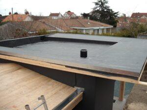 Terrasse d'étanchéité en EPDM 1