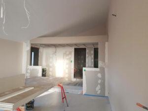 maison en plaque de plâtre